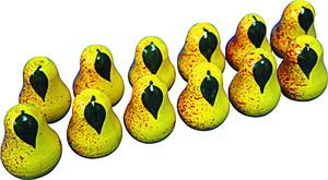 Счетный материал груша (12 шт) (RNToys)